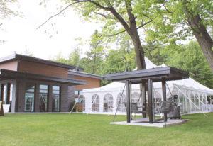 un événement privé, location de chapiteau traditionnel