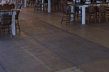 location de plancher de bois